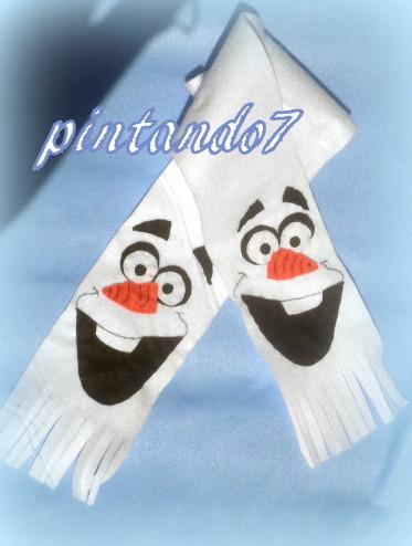 Olaf cachecol